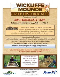 Archaeology Day at Wickliffe Mounds @ Wickliffe Mounds | Wickliffe | Kentucky | United States